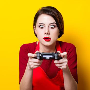 Pessoas que curtem vídeo game