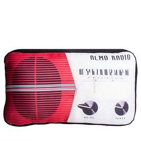 Almofada-Radio-Vintage-Vermelha