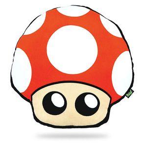 Almofada-Mario-Bros-Cogumelo-Vermelho-Geek
