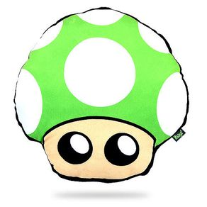 Almofada-Mario-Bros-Cogumelo-Verde-Geek