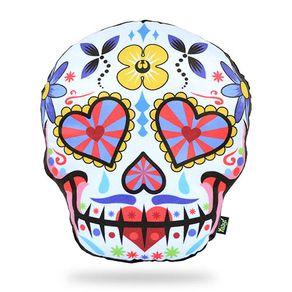 Almofada-Caveira-Dia-dos-Mortos-Mexicano