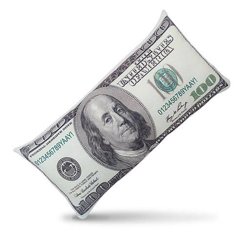 Almofada Dinheiro 100 Dólares
