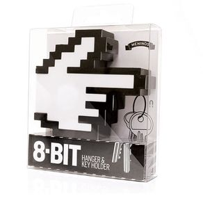Porta-Chaves-e-Cabide-Magnetico-8-Bits-Geek