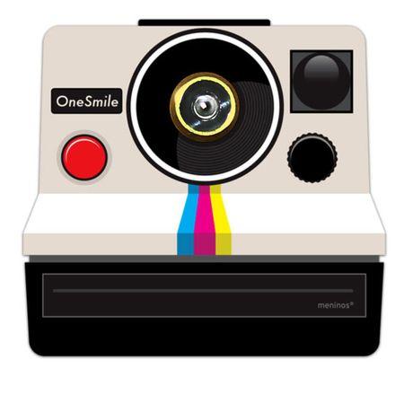 Adesivo Olho Mágico Camera Polaroid