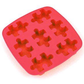 Forma-de-Gelo-Quebra-Cabeca-Vermelha