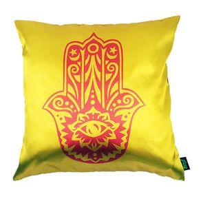 Almofada-Hamsa-Mao-de-Deus-Amarela