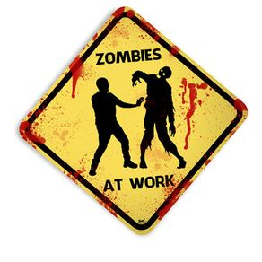 Placa-Zumbis-At-Work
