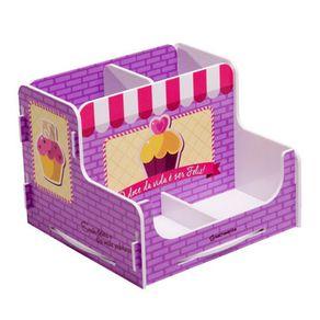 Porta-Lapis-Cupcake-Vintage