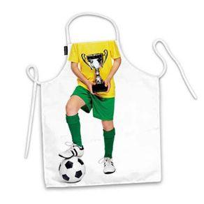Avental-de-Cozinha-Infantil-Jogador-de-Futebol