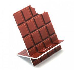 Porta Celular Barra de Chocolate Mordida