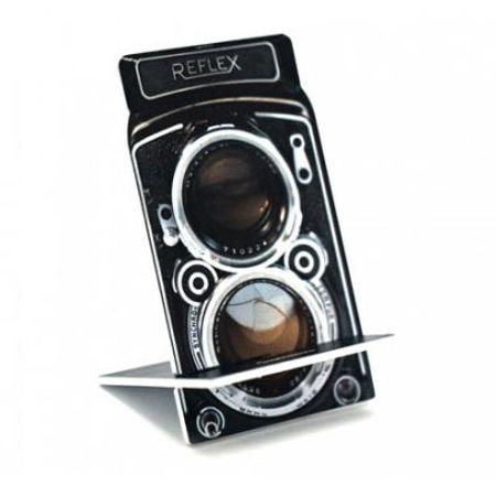 Porta Celular Câmera Fotográfica TLR Vintage
