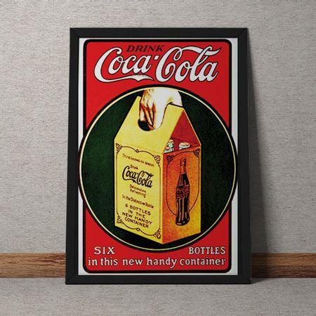 Quadro Decorativo Coca Cola
