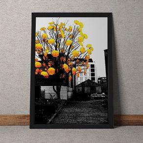 DC059-Arvore-guarda-chuva-amarelo-fundo-tecido