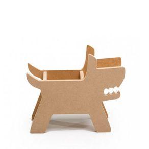Porta-lapis-cachorro-madeira