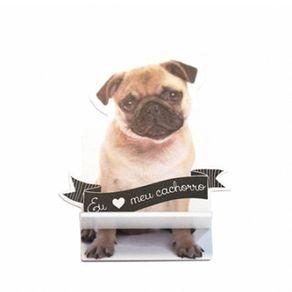 Porta-celular-cachorro-pug