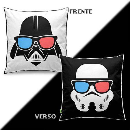 Almofada Darth Vader e Stormtrooper Star Wars