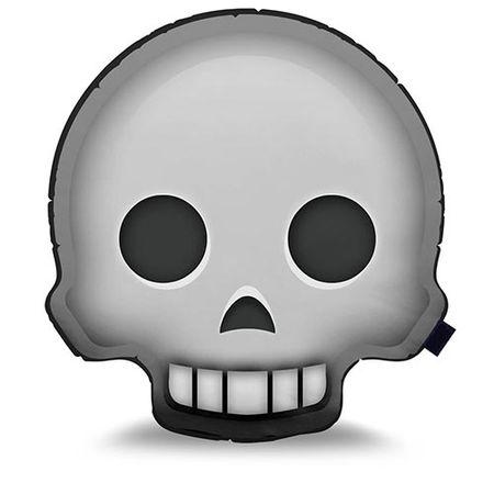 Almofada Emoji Caveira Emoticon