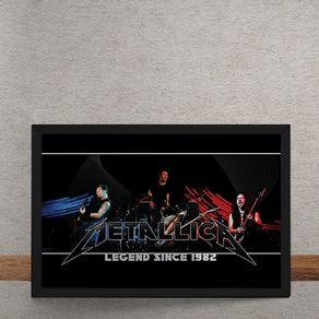 Metallica-tecido
