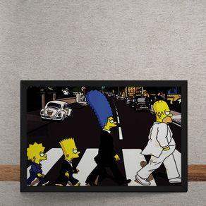 Beatles-Simpons-Abbey-Road-tecido