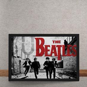 Beatles-Correndo-Logo-Vermelho-tecido