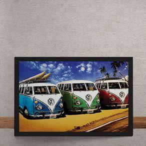 Carro-Volkswagen-Kombis-Praia-tecido