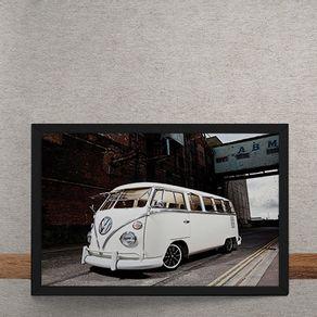 Carro-Volkswagen-Kombi-Branca-Rua-tecido