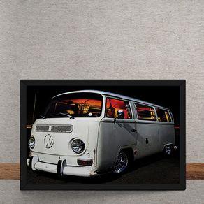 Carro-Volkswagen-Kombi-Branca-tecido