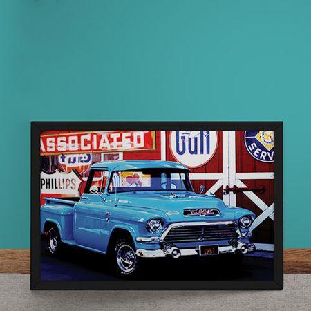 Quadro Decorativo Caminhonete Chevrolet 100