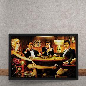 Baralho-Marilyn-Monroes-Elvis-Presley-James-Dean-Humphrey-Bogart-tecido