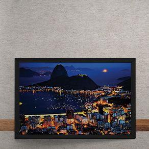 Vista-Rio-de-Janeiro-Praia-Pao-de-Acucar-tecido
