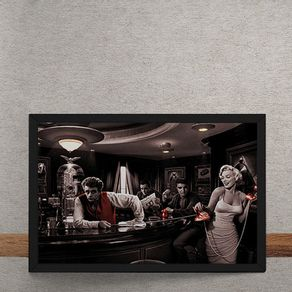 Bar-Marylin-Monroe-Elvis-Presley-James-Dean-Humphrey-Bogart-tecido
