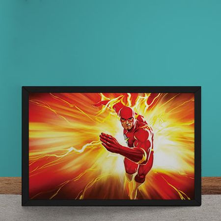 Quadro Decorativo The Flash DC Comics