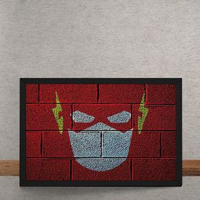 The-Flash-Mural-Minimalista-Chapiscado-DC-Comics-tecido