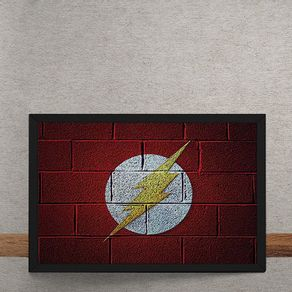 The-Flash-Logo-Mural-Minimalista-Chapiscado-DC-Comics-tecido