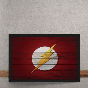 The-Flash-Logo-Mural-Minimalista-DC-Comics-tecido