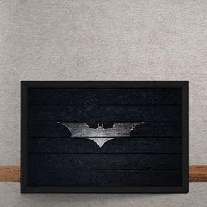 Batman-Logo-Mural-Minimalista-tecido