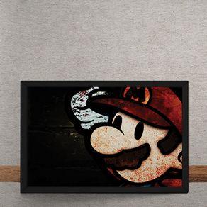 Quadro Decorativo Paper Mario Gamer