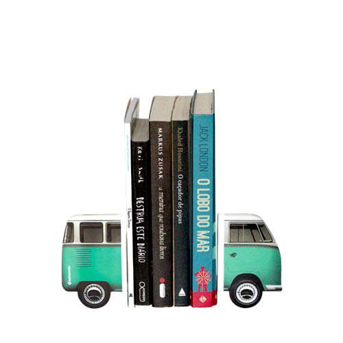 Aparador de Livros Kombi Verde