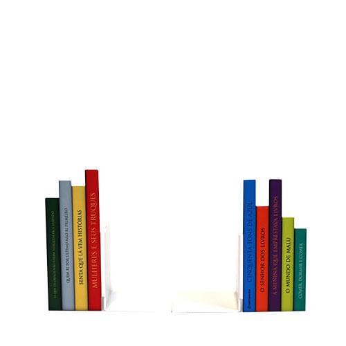 Aparador Colonial De Madeira ~ Aparador de Livros Livros Coloridos Gorila Clube