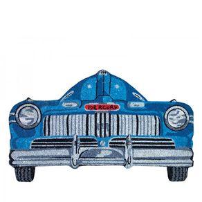 83002258-Capacho-carro-antigo-azul