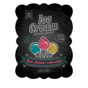 85027964-Placa-decorativa-de-metal-sorvete