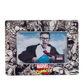 Porta-retrato-super-herois-da-marvel-comics-preto-e-branco-frente