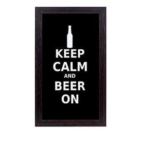Quadro-porta-tampinha-de-cerveja-fique-calmo-e-tome-cerveja