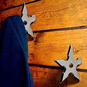 Cabideiro de Metal Ganho Estrelas Ninja