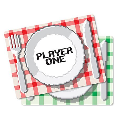 Jogo Americano Players Gamers - 2 pecas