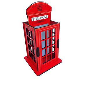 Porta Lapis e Controle Remoto Cabine Telefone de Londres London