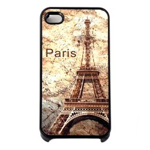 Capa-para-Iphone-4-Torre-Eiffel-Vintage-Preta-com-Purpurina