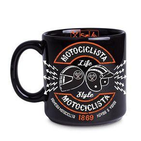 Caneca-Motociclista