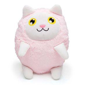 Almofada-Gato-Kat-Branco-e-Rosa