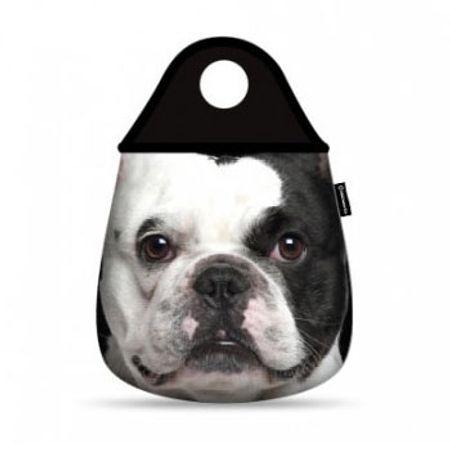 Lixeira para Carro Cachorro Bulldog Francês Pelúcia